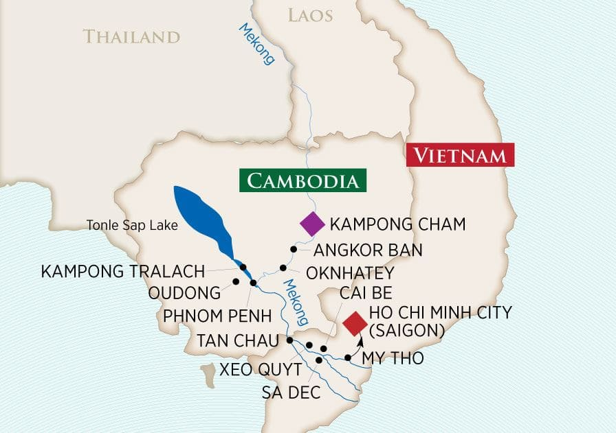 Riches of the Mekong (Kampong Cham to Ho Chi Minh City)