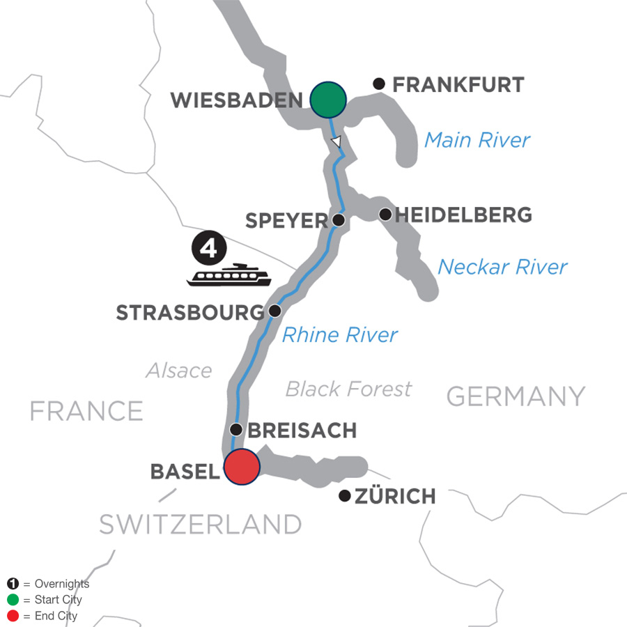 Breisach Germany Map.Christmastime In Alsace Germany Southbound 2019 Wiesbaden To