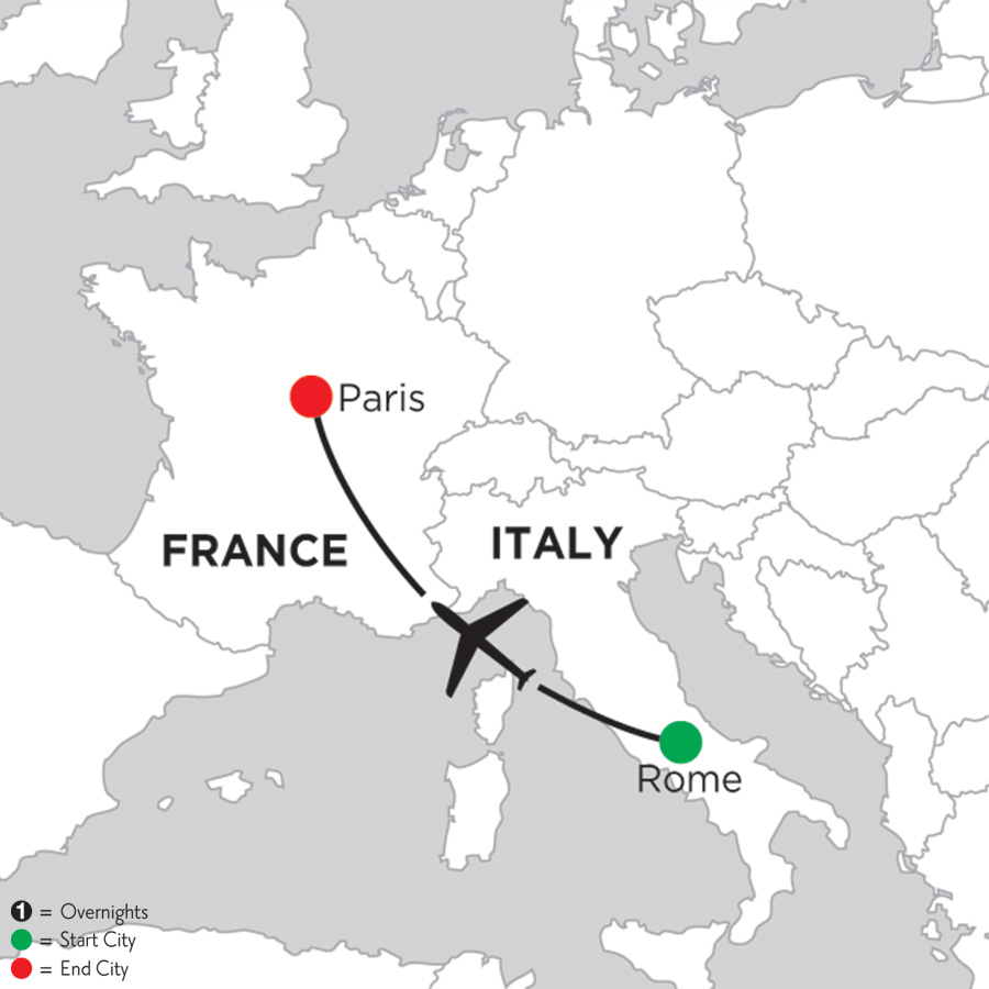 2 Nights Rome 4 Nights Paris 2019 Monograms Pavlus Travel