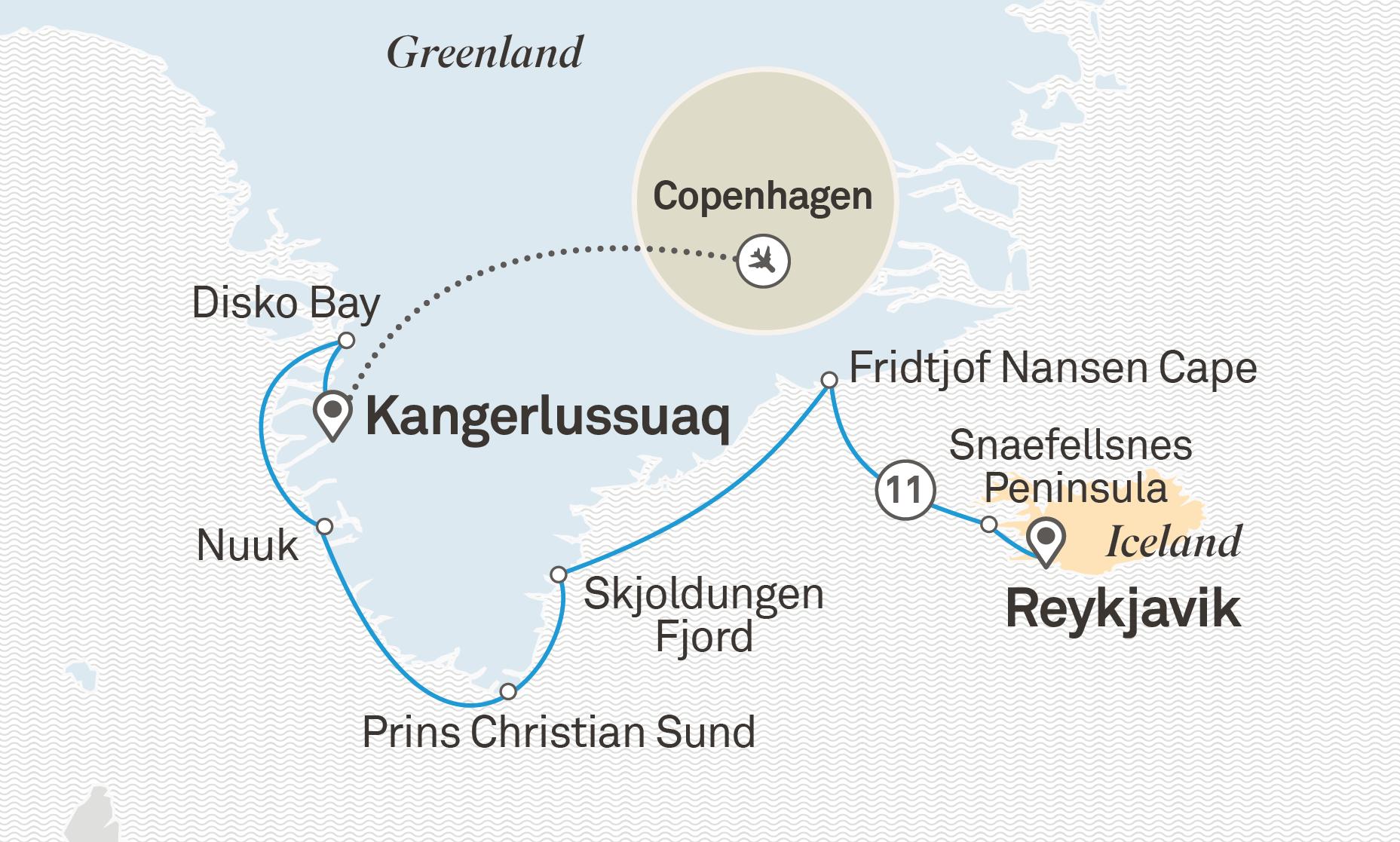 Scenic Cruises - Iceland & Greenland Explorer
