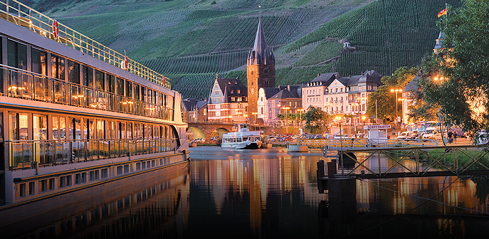 The Rhine and Moselle - Southbound